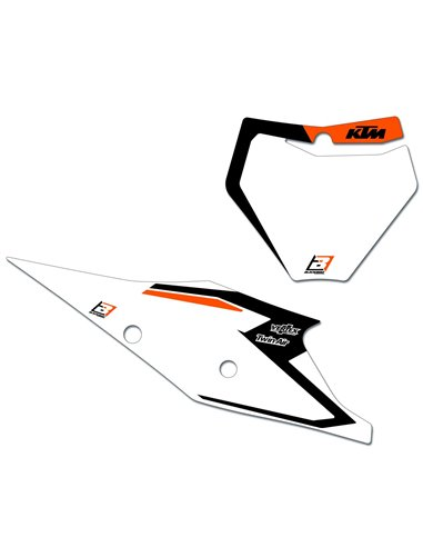 Corona Mixta Acero Alumino Moose Racing KTM SX / EXC-51-Z