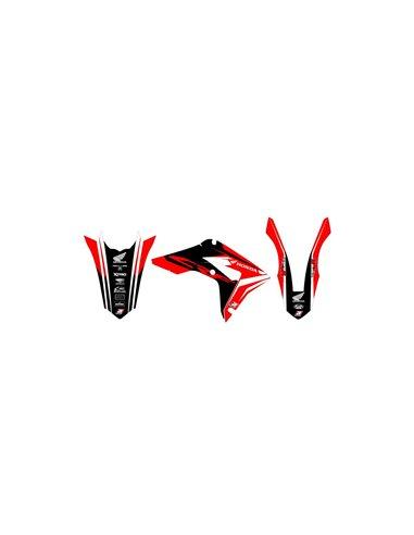 HJC CS-MX Shattered MC-1 - Size: S - 55/56 Motocross Helmet