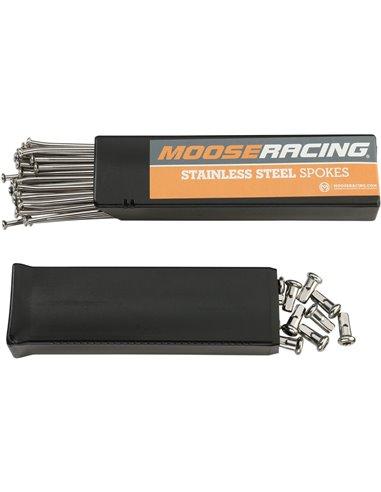 Chrome steel spoke (rim 18'') Moose Racing Kawasaki 1-20-208-1