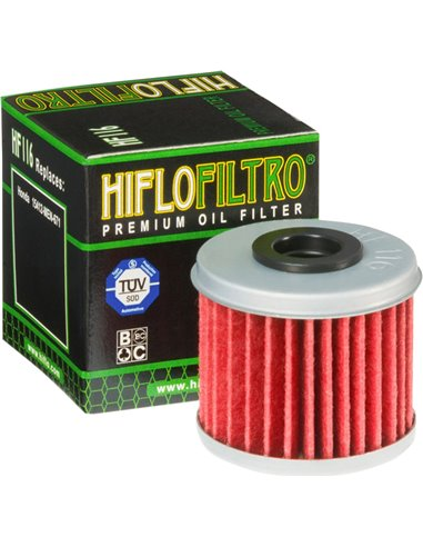 Oil Filter/Hiflofitro Hf116