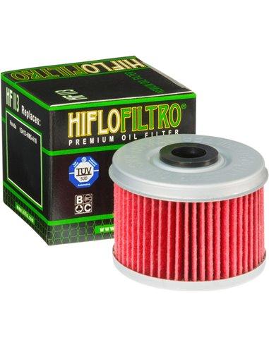 Hiflofiltro Oil Filter Hf113