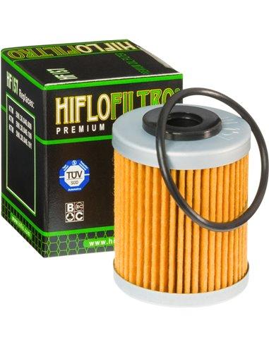 Filtre d'Oli Hiflofiltro HF157 Filter number: 2nd filter