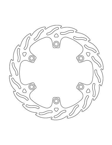 Brake Rotor Fix Flame MOTO-MASTER 110727