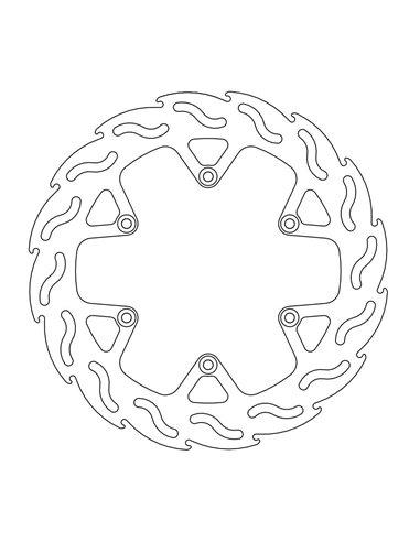 Brake Rotor Fix Flame 4.4 MOTO-MASTER 110728