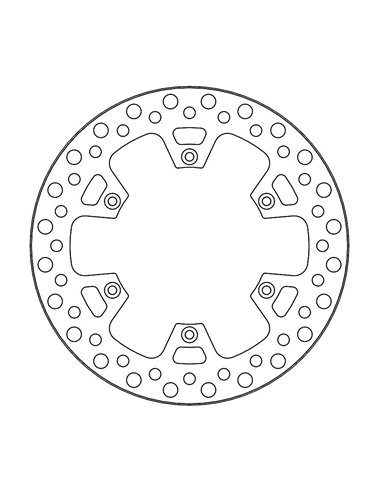 Brake Disc Vint Rear MOTO-MASTER 110830