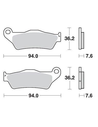 Brakepad 093012 MOTO-MASTER