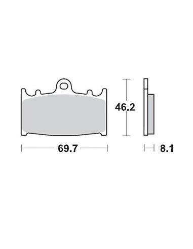 Brake Pad Supermoto Caliper MOTO-MASTER 099912