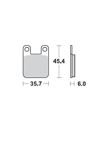 Brakepad Front Ktm 65 MOTO-MASTER 090511