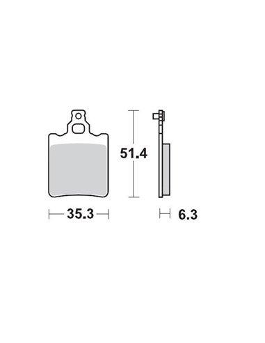 Brakepad Rear Ktm 65 MOTO-MASTER 090711