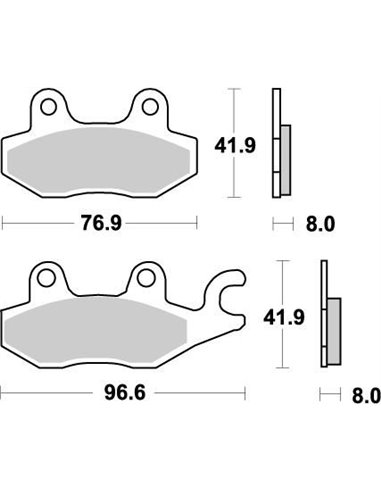 Brakepad Nitro MOTO-MASTER 092621