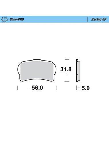 Brake Pad Sinter Racing MOTO-MASTER 099512