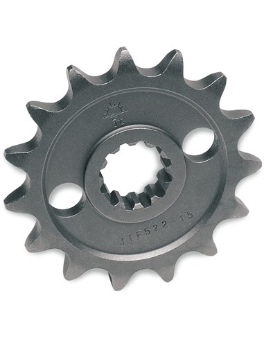 JTF555.15 FRONT REPLACEMENT SPROCKET 15 TEETH 428 PITCH NATURAL STEEL