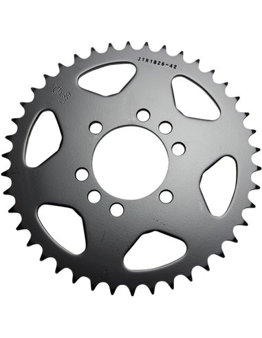 JTR1826.42 REAR REPLACEMENT SPROCKET 42 TEETH 520 PITCH NATURAL C49 HIGH CARBON STEEL