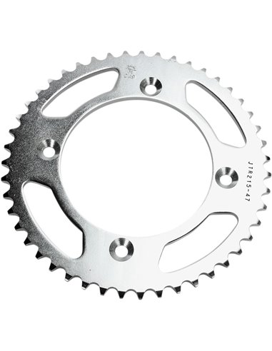 JTR215.47 REAR REPLACEMENT SPROCKET 47 TEETH 420 PITCH NATURAL STEEL