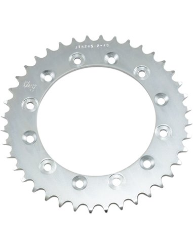 JTR245/2.40 REAR REPLACEMENT SPROCKET 40 TEETH 520 PITCH NATURAL C49 HIGH CARBON STEEL