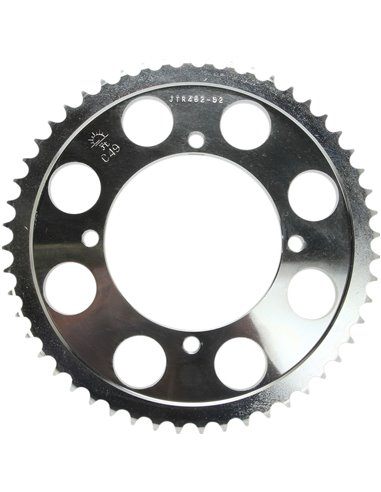 JTR462.52 REAR REPLACEMENT SPROCKET 52 TEETH 428 PITCH NATURAL C49 HIGH CARBON STEEL