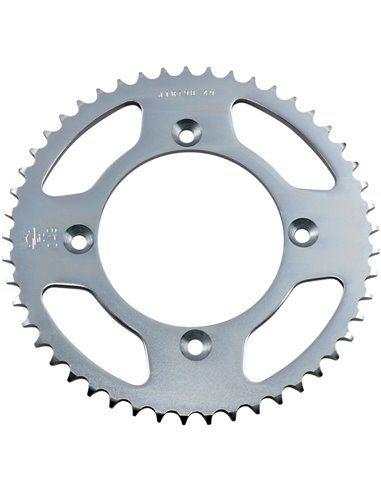 JTR798.49 REAR REPLACEMENT SPROCKET 49 TEETH 428 PITCH NATURAL C49 HIGH CARBON STEEL