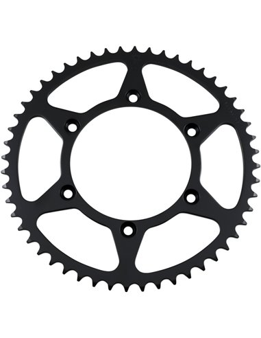 JTR808.52 REAR REPLACEMENT SPROCKET 52 TEETH 520 PITCH NATURAL C49 HIGH CARBON STEEL
