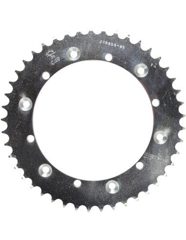 JTR853.45 REAR REPLACEMENT SPROCKET 45 TEETH 520 PITCH NATURAL STEEL