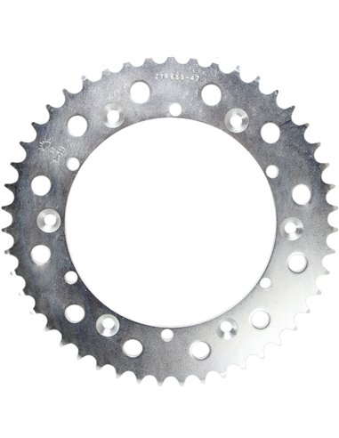 JTR853.47 REAR REPLACEMENT SPROCKET 47 TEETH 520 PITCH NATURAL STEEL