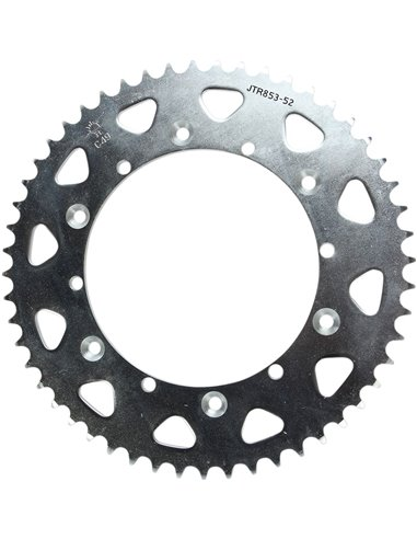 JTR853.52 REAR REPLACEMENT SPROCKET 52 TEETH 520 PITCH NATURAL STEEL