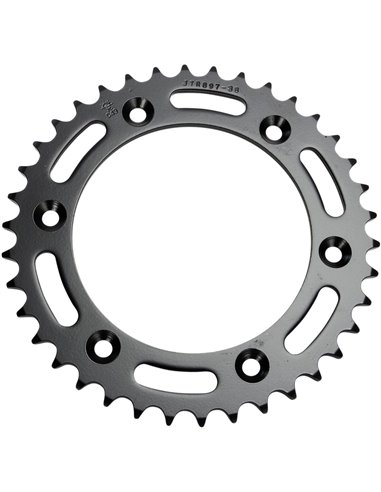 JTR897.38 REAR REPLACEMENT SPROCKET 38 TEETH 520 PITCH NATURAL STEEL