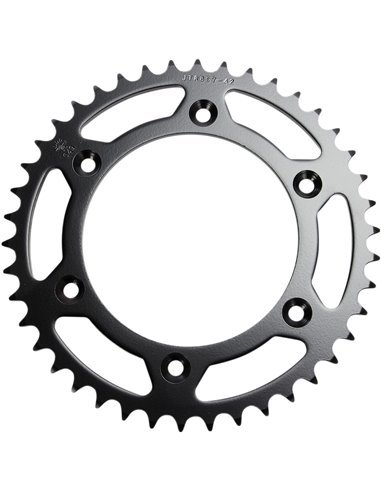 JTR897.42 REAR REPLACEMENT SPROCKET 42 TEETH 520 PITCH NATURAL STEEL