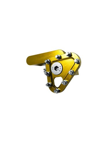Puntera pedal de Freno Forjado Amarilla Apico