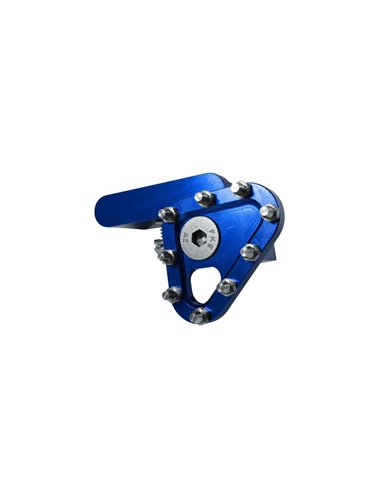 Puntera pedal de Freno Forjado Azul Apico