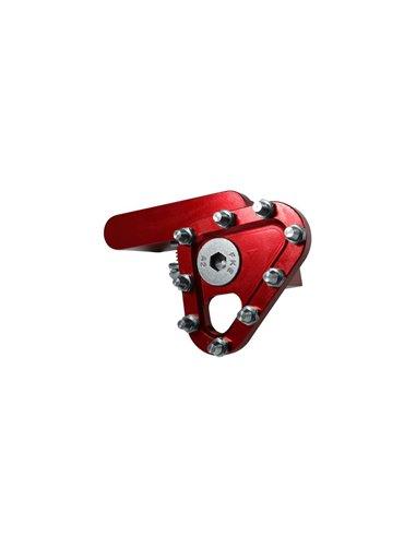 Puntera pedal de Freno Forjado Roja Apico