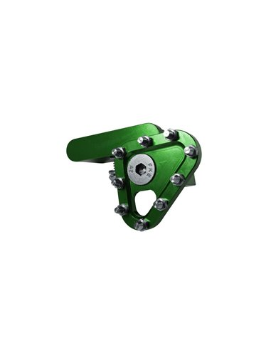 Puntera pedal de Freno Forjado Verde Apico
