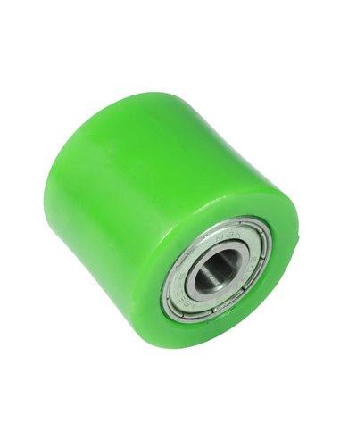 Rodillo Cadena Universal 32mm, Verde Apico