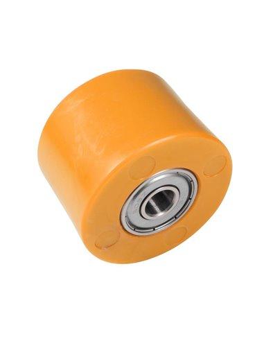 Rodillo Cadena Universal 42mm, Naranja Apico