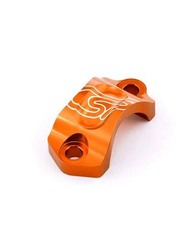 Abrazadera Bomba Freno/Embrague AJP/Braktec, Naranja Costa Special Parts AK5918BK.O