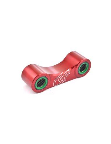 Bieletas Trial Montesa 4RT con cojinetes, Rojo Costa Special Parts TA3002MT.R