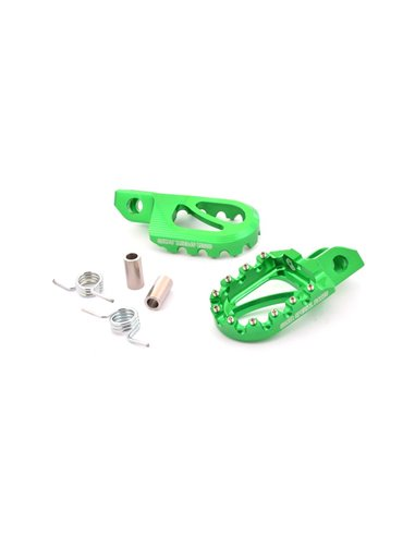 Estribera Trial BIGFOOT, Verde Costa Special Parts TK1954UN.N