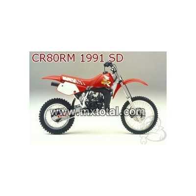 Parts for Honda CR 80 1991 motocross bike