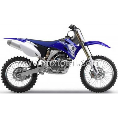 Parts for Yamaha YZF 250 2007 motocross bike