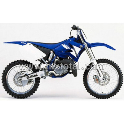 Parts for Yamaha YZ 125 2002 motocross bike