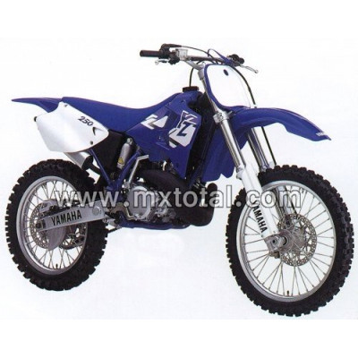 Parts for Yamaha YZ 250 1998 motocross bike