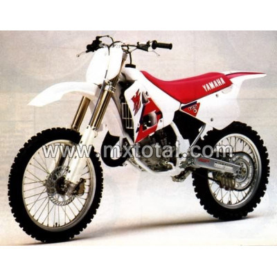 Parts for Yamaha YZ 125 1992 motocross bike