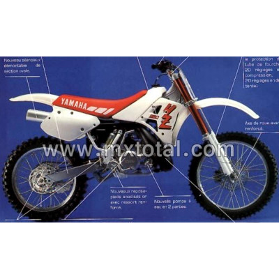 Parts for Yamaha YZ 250 1990 motocross bike