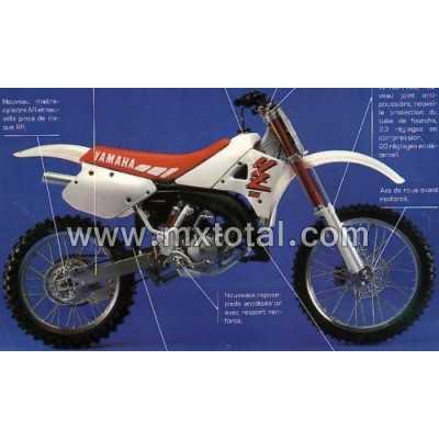 Parts for Yamaha YZ 125 1990 motocross bike