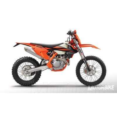 Parts for KTM EXC-F 450 2019 enduro bike
