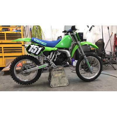 Parts for Kawasaki KX 125 1987 motocross bike
