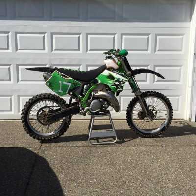 Parts for Kawasaki KX 125 1988 motocross bike
