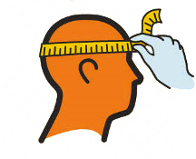 Medir talla casco